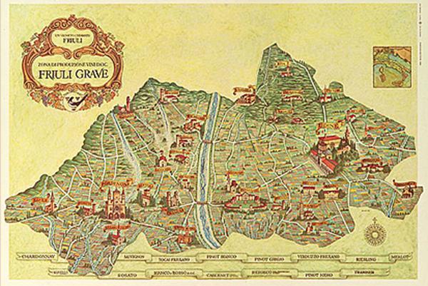 Friuli Grave Map