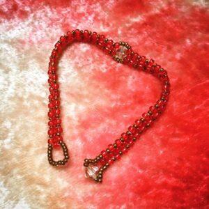 red_bronze_swarovski_bracelet